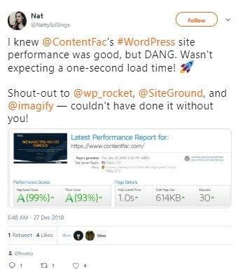SiteGround Rocket Imagify Combo