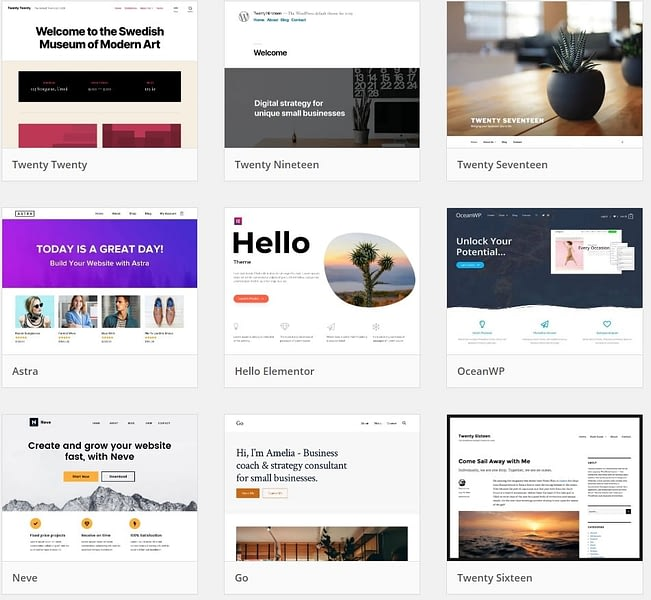 complete guide to wordpress themes