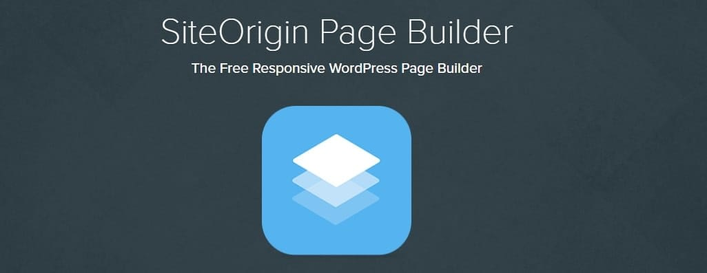 Site Origin WordPress Page Builder plugins