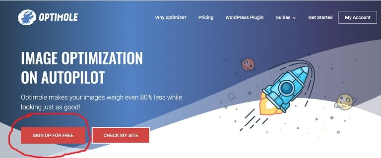 how to convert wordpress images to webp format with optimole